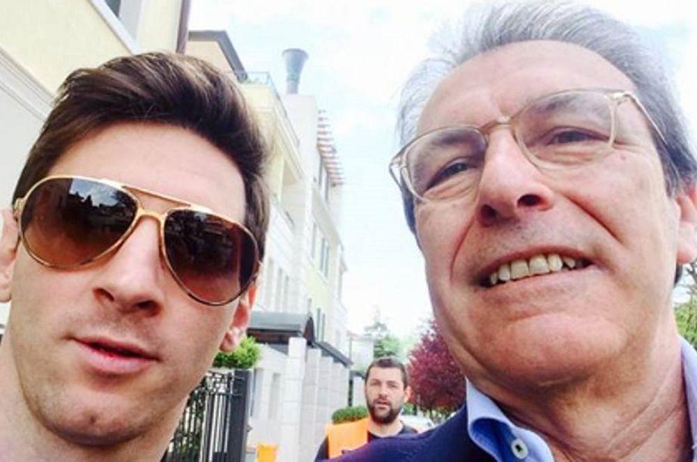 Λιονέλ Μέσι: Στην Ιταλία για τον διατροφολόγο του (photos)
