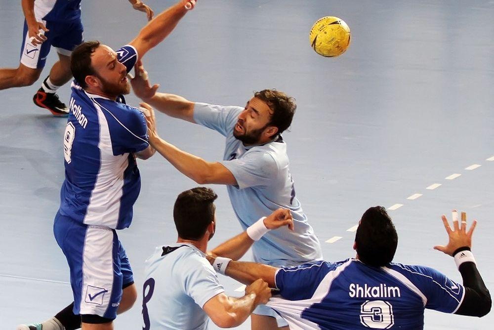 Εθνική Χάντμπολ Ανδρών: Δεύτερη ήττα από Ισραήλ (photos)