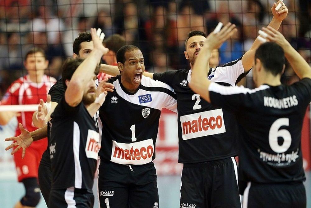 Volleyleague: Ολυμπιακός - ΠΑΟΚ 2-3 (photos)