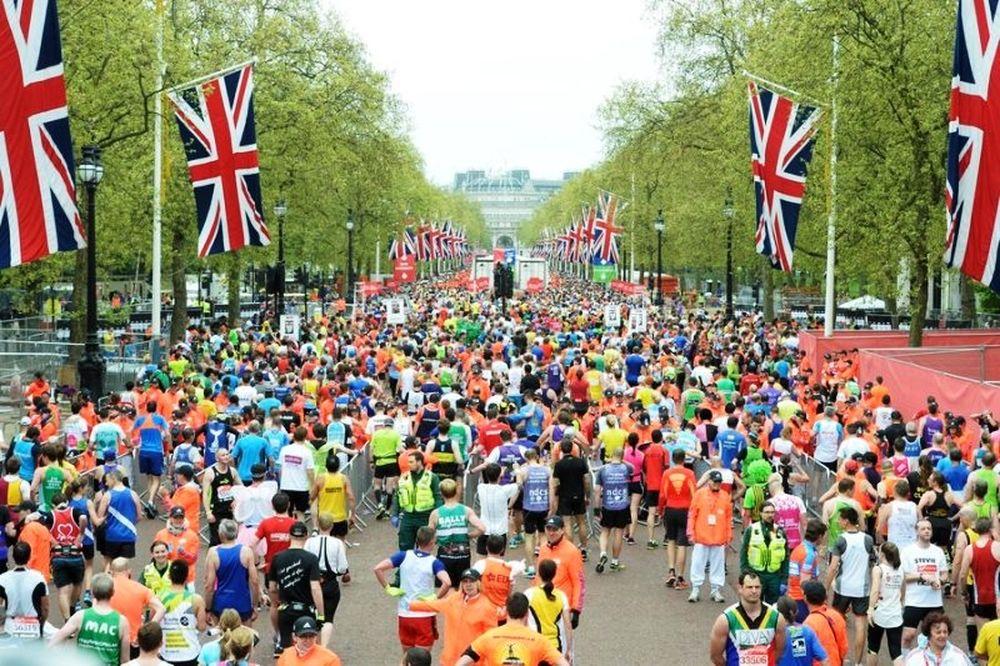 Μαραθώνιος Λονδίνου: Κυρίαρχοι Κιπτσόγκε και Τούφα