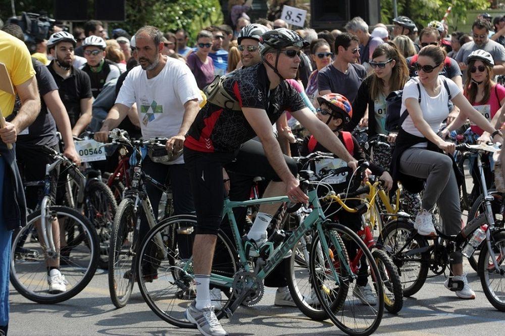 Ποδηλατικός Γύρος Αθήνας: Ολοκληρώθηκε ο 22ός Αγώνας (photos+video)