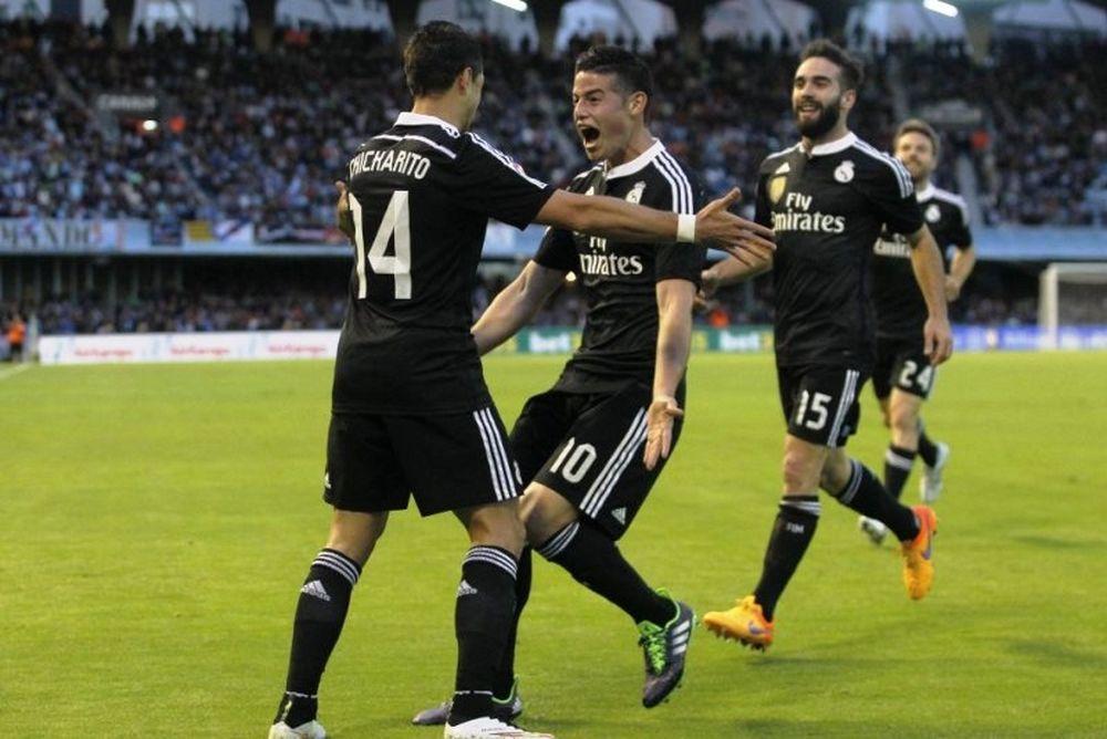 Θέλτα – Ρεάλ Μαδρίτης 2-4 (videos)