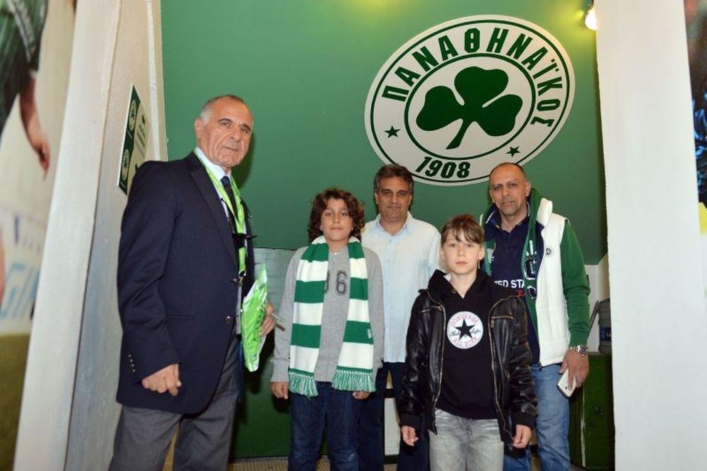 Παναθηναϊκός: «Meet a Legend» στη Λεωφόρο! (photos)