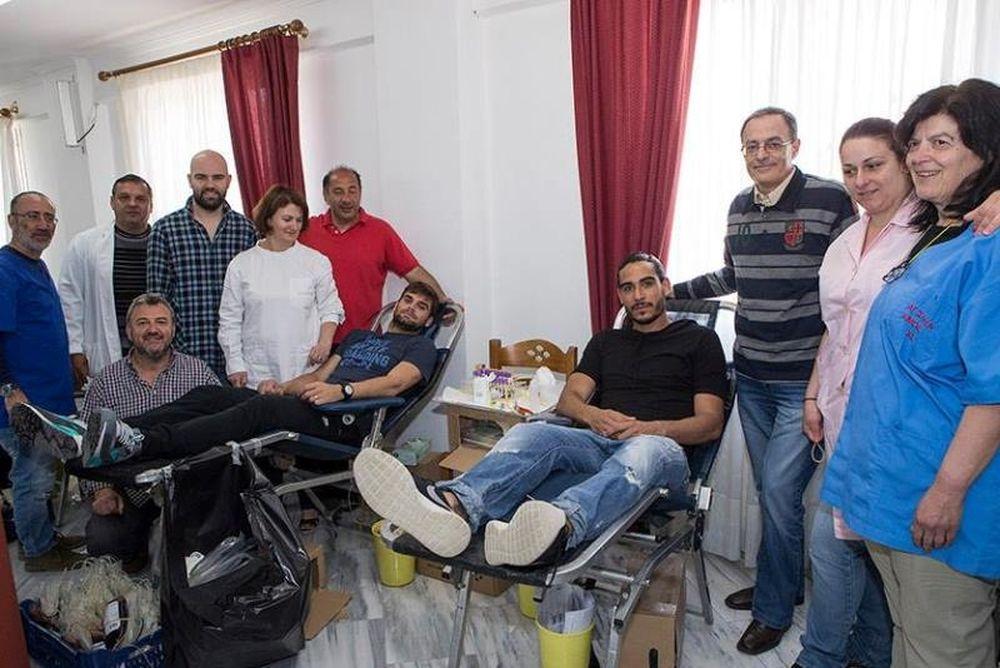 Αστέρας Τρίπολης: Έδωσαν το… αίμα τους (photos)