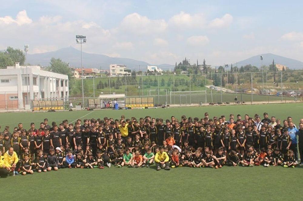 ΑΕΚ: Επιτυχημένο το camp στη Θεσσαλονίκη (photos)