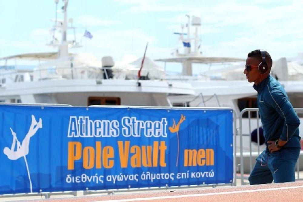 3ο Athens Street Pole Vault: Στην πλατεία Συντάγματος