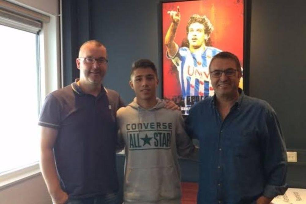 Ένας 16χρονος Έλληνας στα σαλόνια του ολλανδικού πρωταθλήματος!