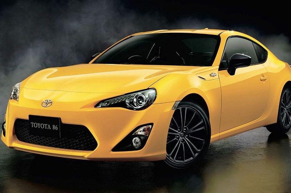 Αυτό είναι το νέο GT86 Yellow Limited