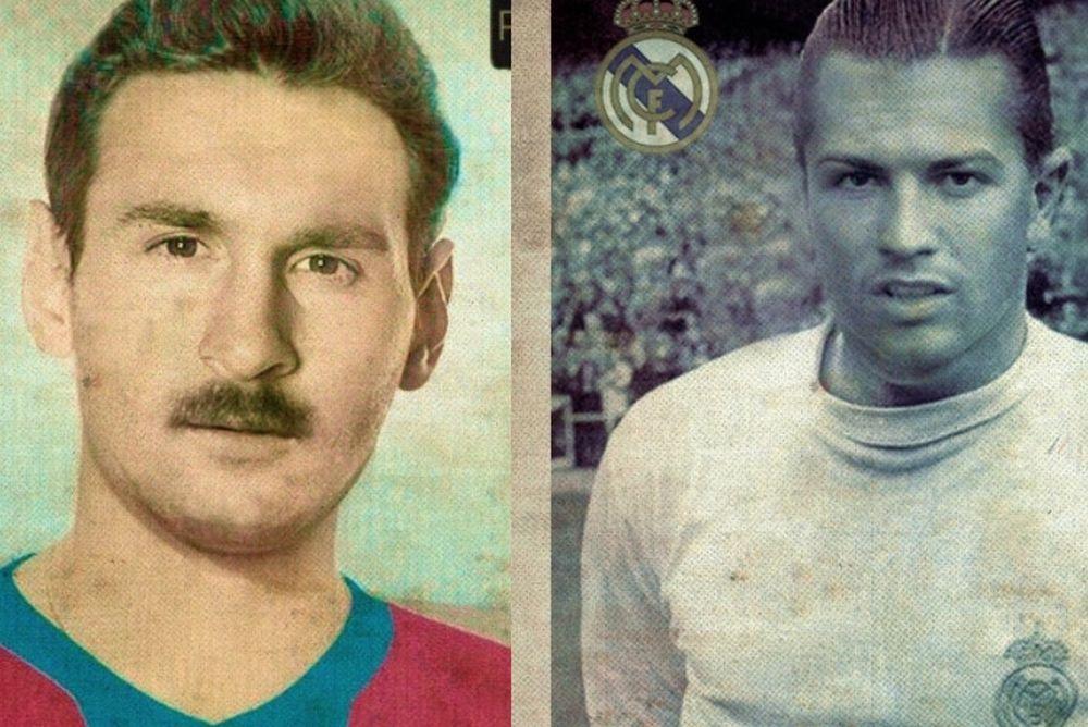 Back to the 60's! Ο Μέσι με μουστάκι και ο λεβέντης Ρονάλντο! (photos)