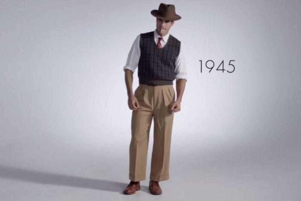 Πόσο άλλαξε το ανδρικό ντύσιμο, μέσα στα τελευταία 100 χρόνια; (video)