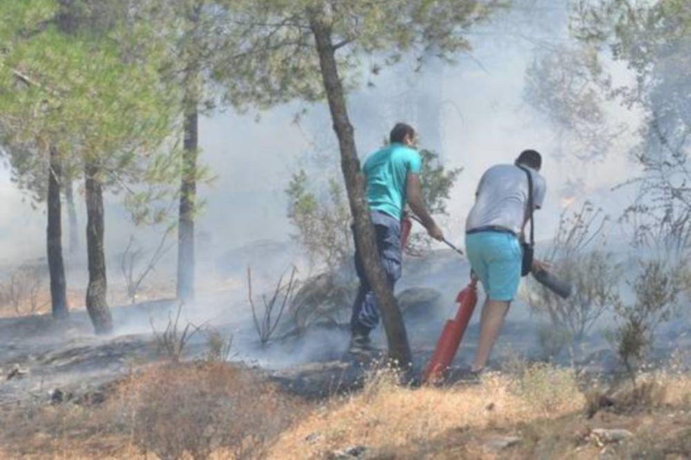 Μέτωπο φωτιάς και στη Μαλακάσα!