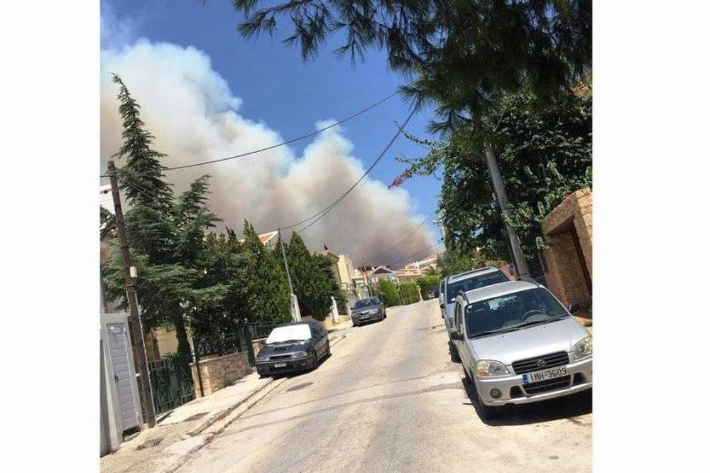 Μια ανάσα από την πυρκαγιά πρώην παίκτης του Παναθηναϊκού (photo)