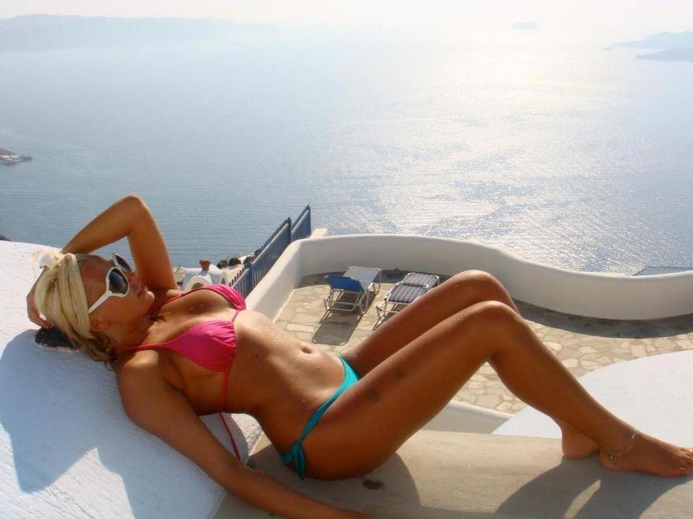 Η Ρία Τσίγα μας στέλνει... διακοπές! (photo)