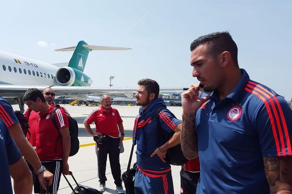Το ταξίδι του Ολυμπιακού για Τουρκία (video)