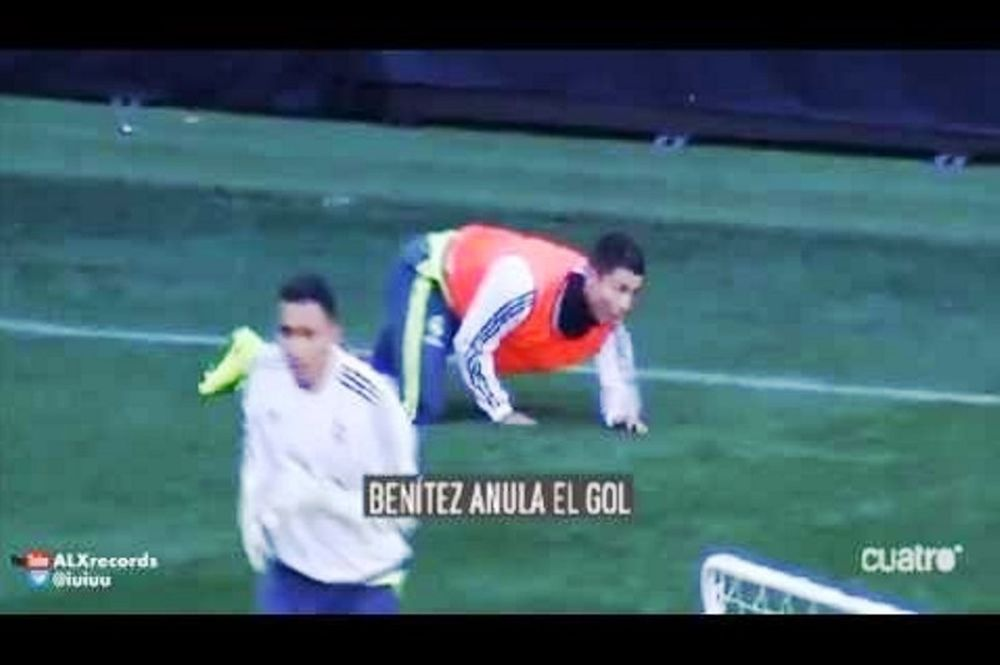 Κόντρα Ρονάλντο – Μπενίτεθ! (video)