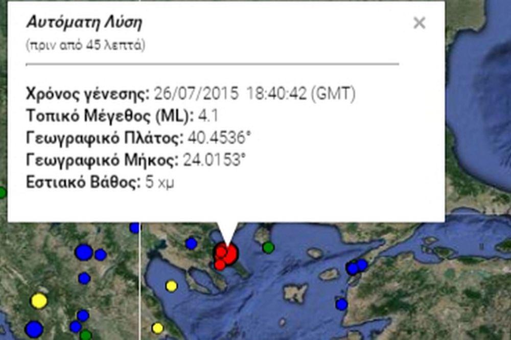 Σεισμός: 4,1R αναστάτωσαν το Άγιο Όρος