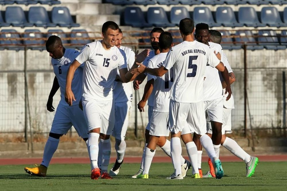 Θετικό ξεκίνημα για Κέρκυρα, 2-0 τον ΠΑΣ