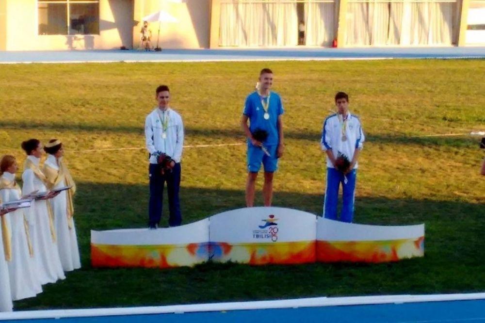 Ευρωπαϊκό Ολυμπιακό Φεστιβάλ Νεότητας: Ο Μέρλος το πρώτο μετάλλιο!