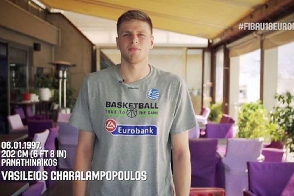Αφιέρωμα της FIBA στον Χαραλαμπόπουλο (video)