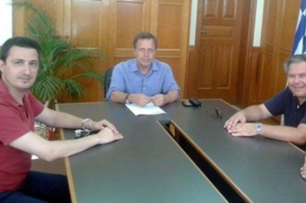 Κόροιβος: Συνάντηση με τον αντιπεριφερειάρχη