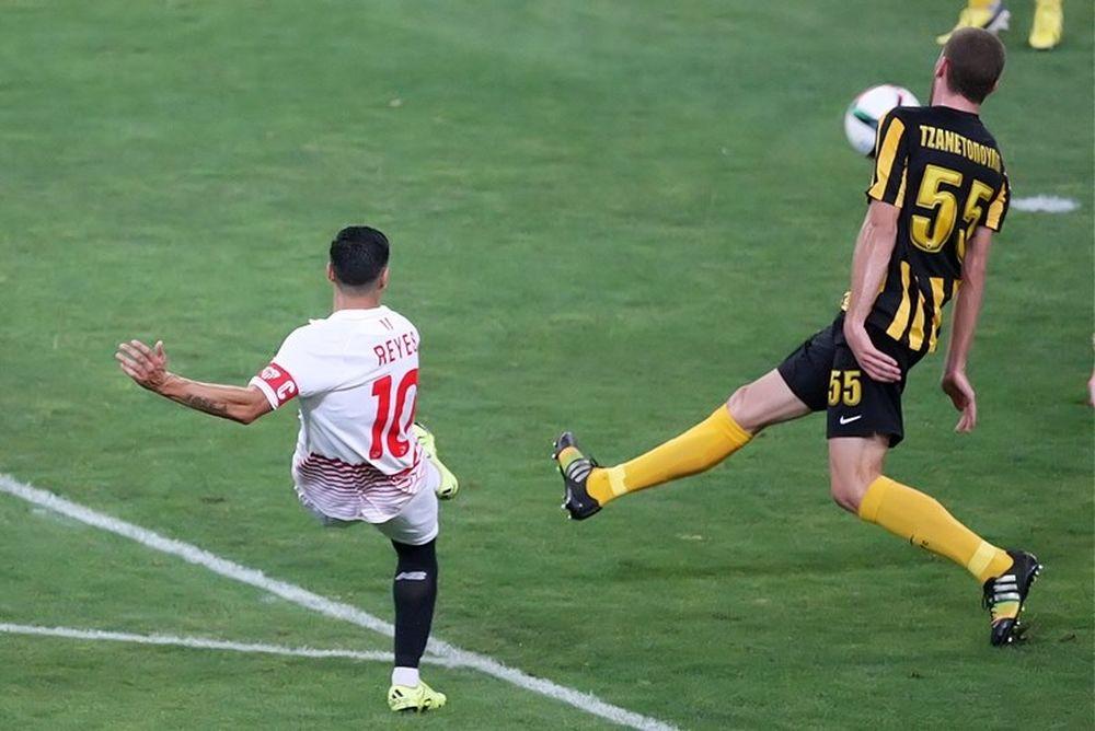 ΑΕΚ - Σεβίλλη: Το γκολ του Ρέγες (video)