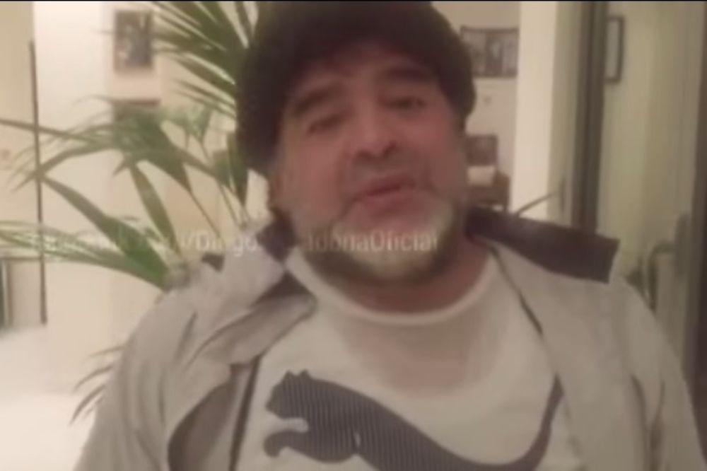 Μαραντόνα: Δώδεκα χρόνια χωρίς ναρκωτικά και… πολλά κιλά! (video)