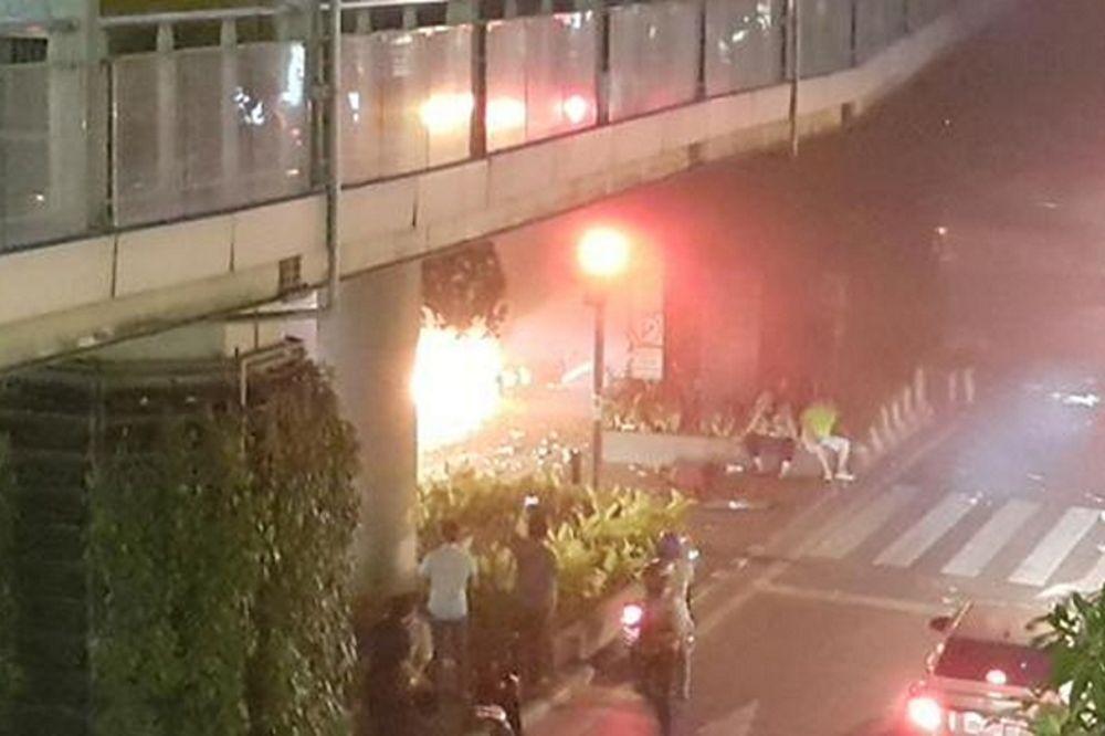 Μπανγκόκ: Πέντε νεκροί και 20 τραυματίες σύμφωνα με πρώτο απολογισμό (photos&video)