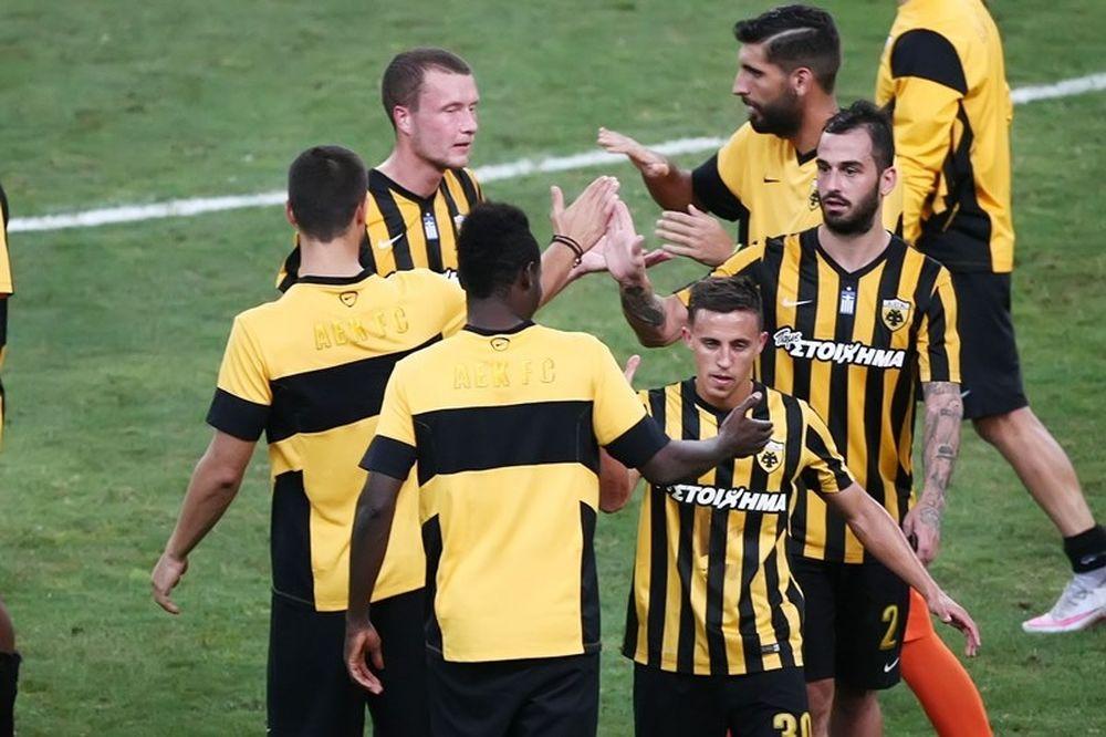 ΑΕΚ - Πλατανιάς 3-0: Τα γκολ του αγώνα (video)