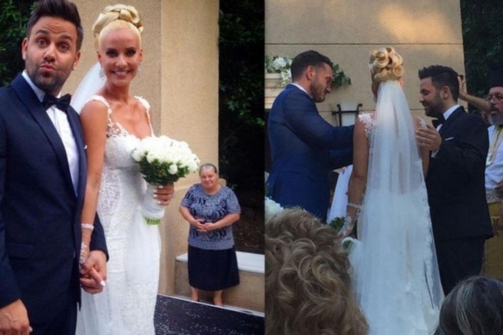 Παντελιδάκη-Γιαννιάς: Οι πρώτες φωτογραφίες του γάμου τους
