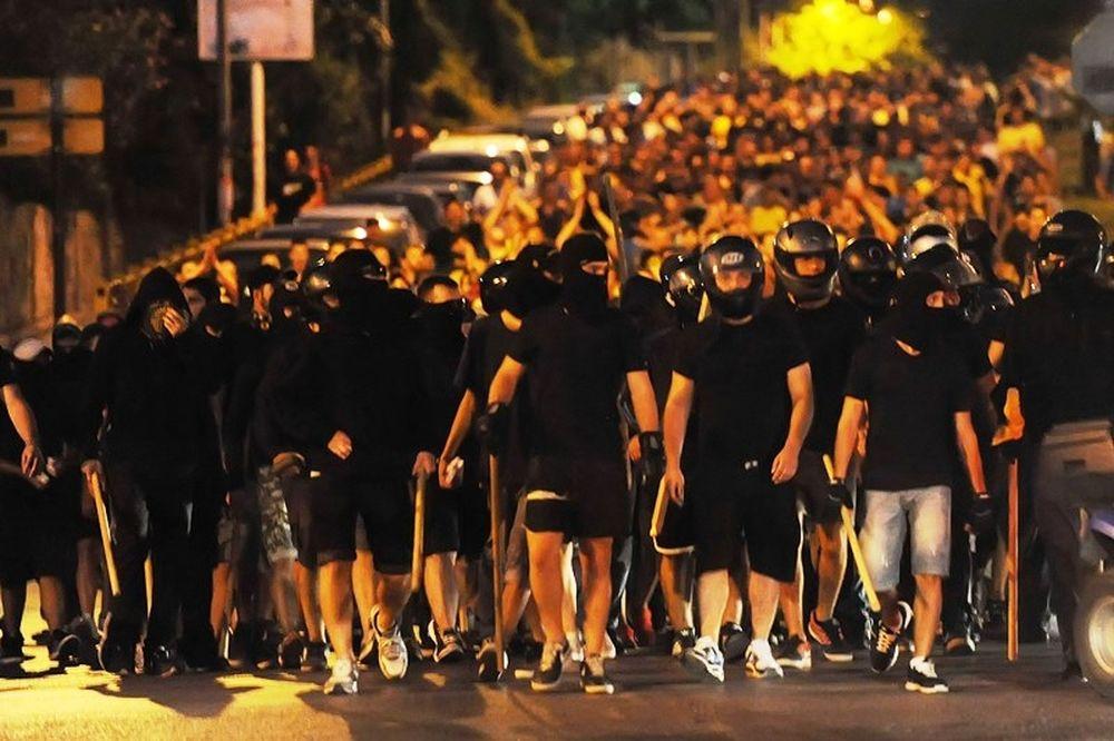 Χάος στη Θεσσαλονίκη (photos)