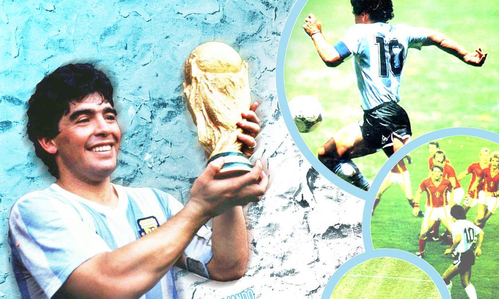 Ο «Θεός του ποδοσφαίρου» κατέβηκε στη Γη! (photos+videos)