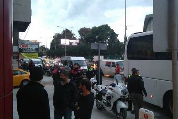 «Δρακόντεια» μέτρα ασφαλείας στη Σμύρνη (video)