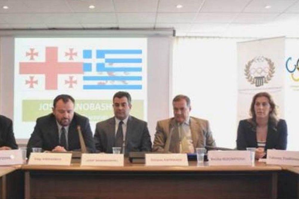 Πρώτη κοινή δράση συλλόγων Ολυμπιονικών Ελλάδας και Γεωργίας στην Κέρκυρα