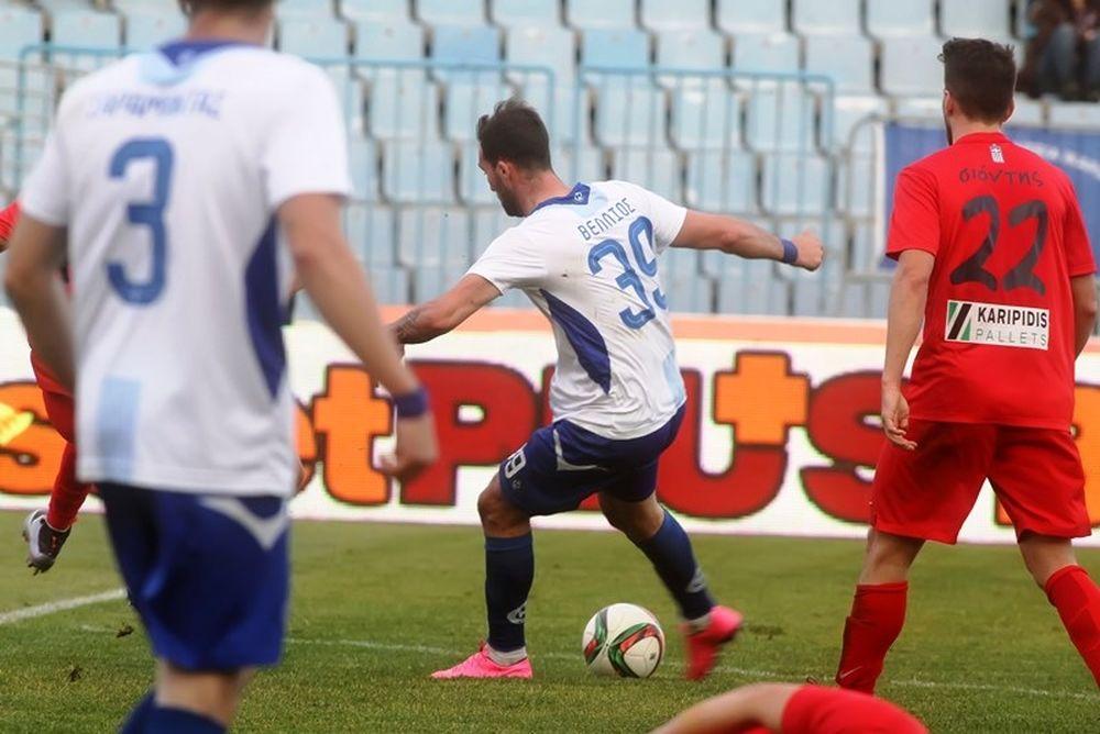 Ηρακλής – Βέροια 1-0: Το γκολ του αγώνα (video)