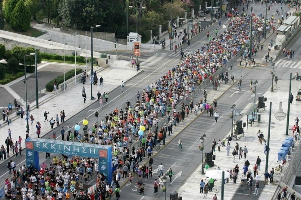 Ημιμαραθώνιος Αθήνας: Δύο σημαντικές αλλαγές στον εφετινό αγώνα