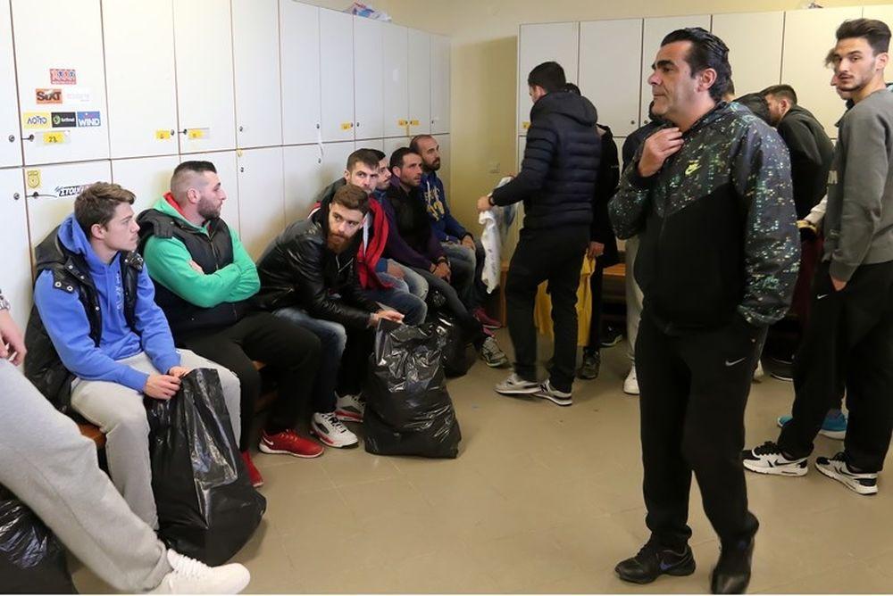 Λύγισαν οι παίκτες του Εργοτέλη στο «αντίο» (photos)