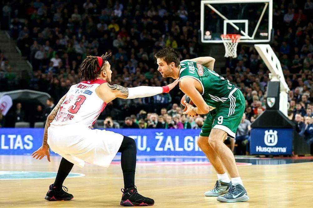 Ζαλγκίρις - Ολυμπιακός 75-55: Διασυρμός με... υπογραφή «Σάρας»