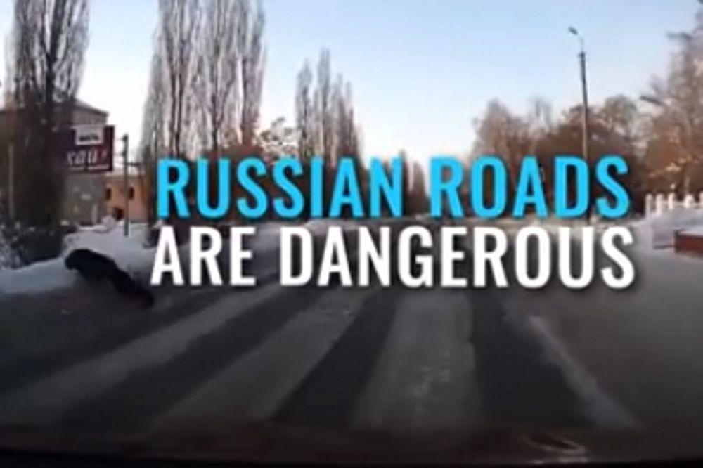 «Μεθυσμένοι» είναι αυτοί οι Ρώσοι; (video)