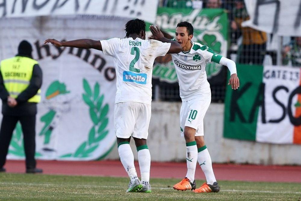 Λεβαδειακός - Παναθηναϊκός 0-2: Τα γκολ του αγώνα (video)