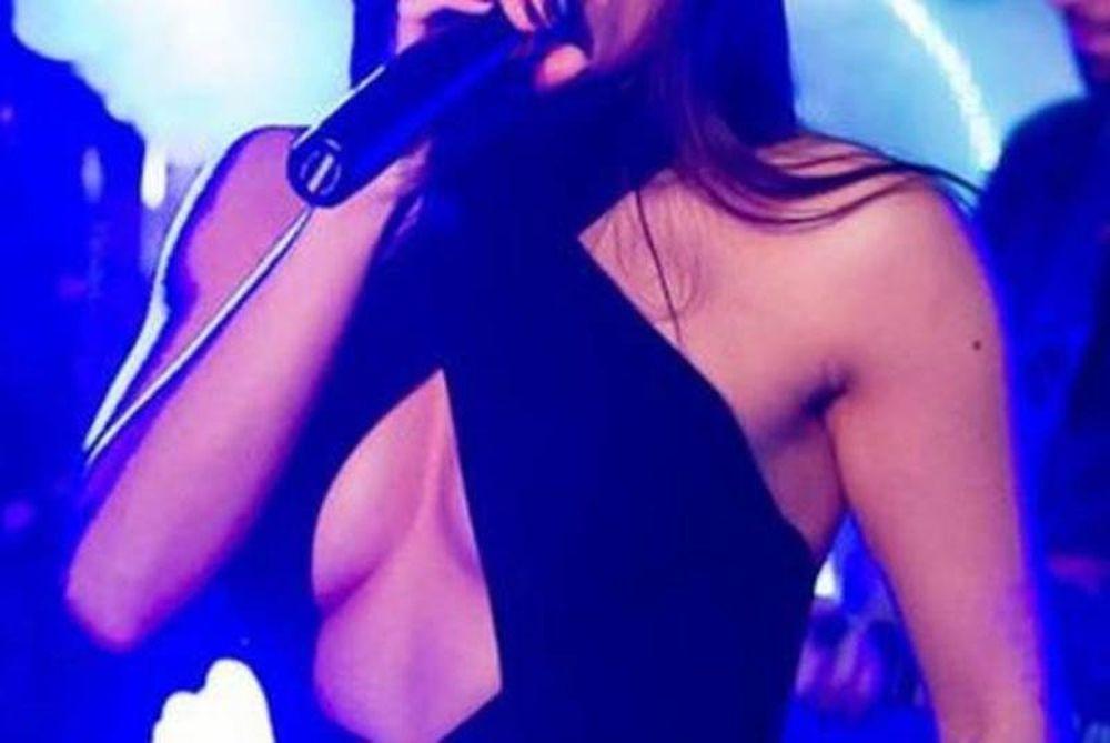 Ό,τι μπορεί δείχνει κι αυτή. Ξεχειλίζει το στήθος Ελληνίδας τραγουδίστριας (photos)