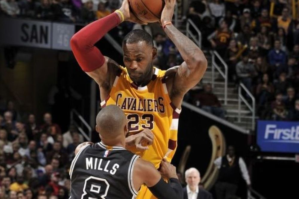 NBA: Οι «Big Three» πάτησαν τους Spurs (videos)