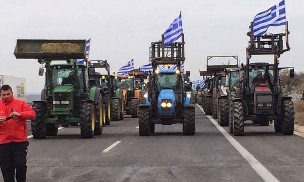 Μπλόκα αγροτών: Παραλύουν τη χώρα - Κλειστό επ΄αόριστον το Τελωνείο Κήπων