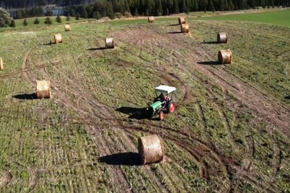 Ο αγρότης που πάει σε όλα τα μπλόκα! (video)