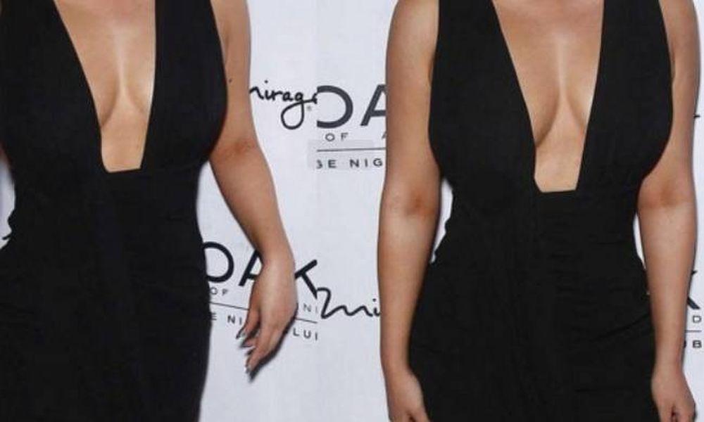 Τα πέταξε εξώ! Παρουσιάστρια κάνει απόσβεση το νέο στήθος της  (photos)