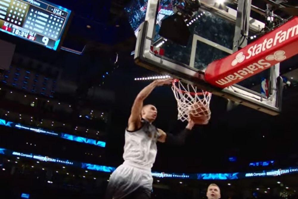 NBA:Τα καλύτερα της πρώτης νύχτας του All-Star Game (video)
