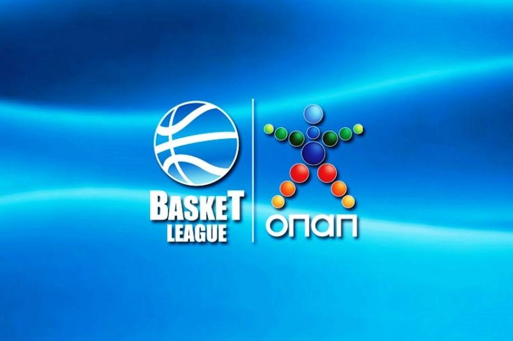 Η βαθμολογία της Basket League ΟΠΑΠ!