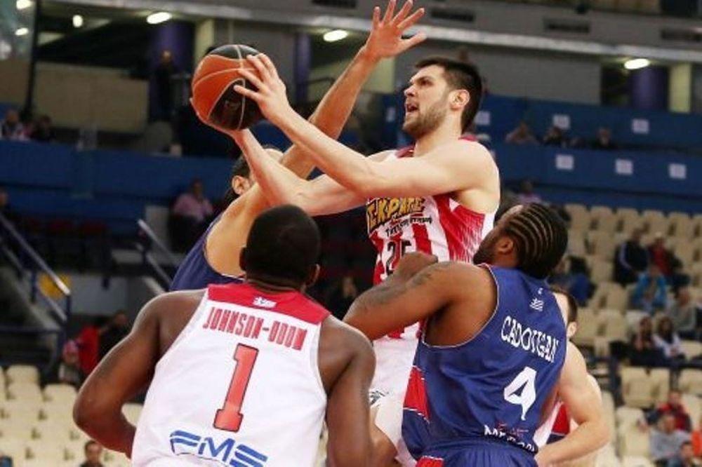 Ολυμπιακός - Τρίκαλα 84-52: Περίπατος στο ΣΕΦ