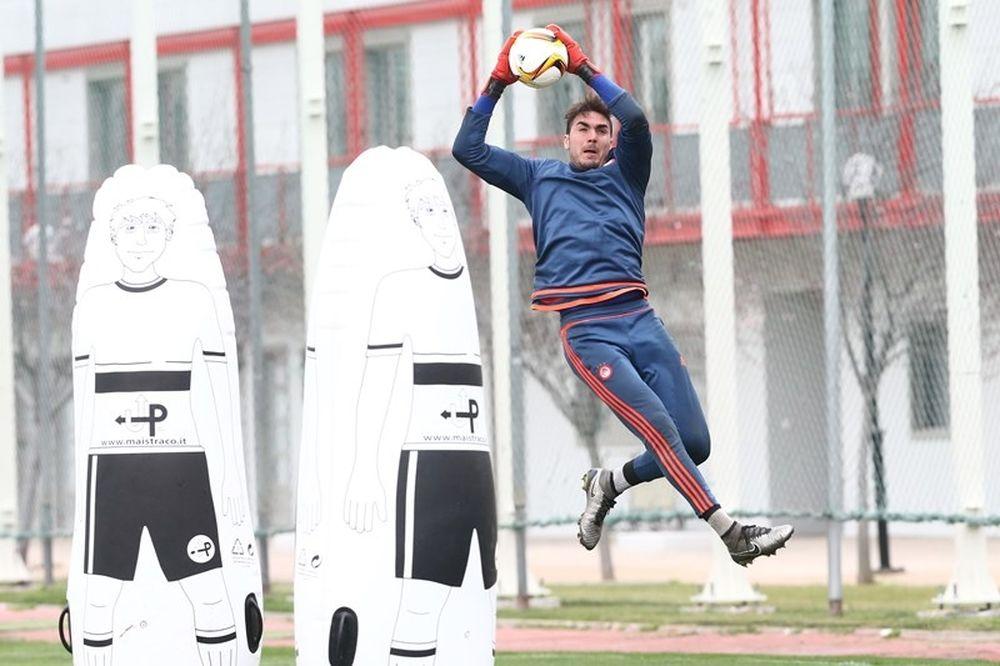 Ολυμπιακός - Άντερλεχτ: Ο Ρομπέρτο έδωσε το σύνθημα (photo)