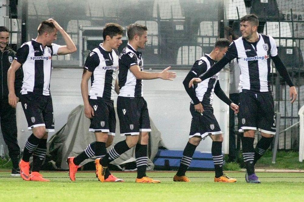 ΠΑΟΚ – Αστέρας Τρίπολης 2-0: Τα γκολ του αγώνα (video)