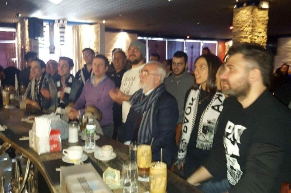 Είδε ΠΑΟΚ σε μπαρ των ΗΠΑ ο Σαββίδης! (photos+video)